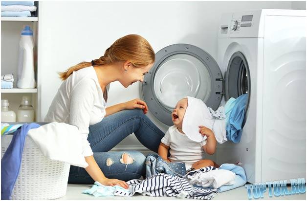 порошком лучше стирать детские