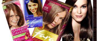 лучших красок для окрашивания волос