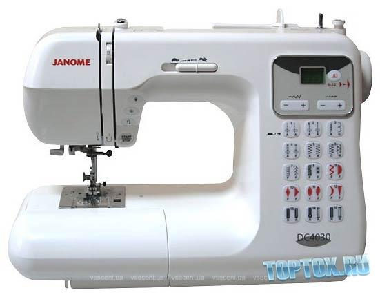 Janome Decor Computer 4030