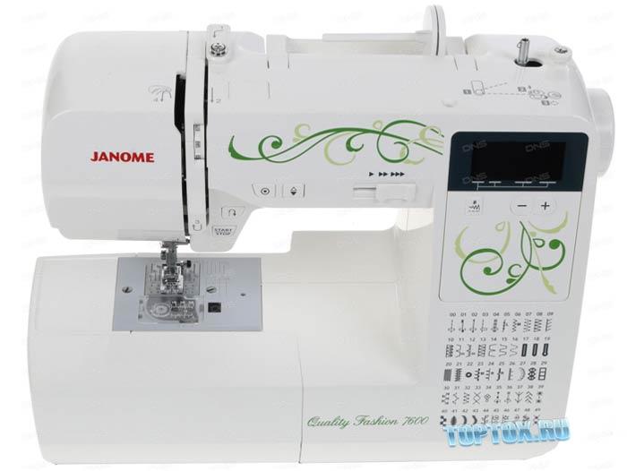 Janome 7600