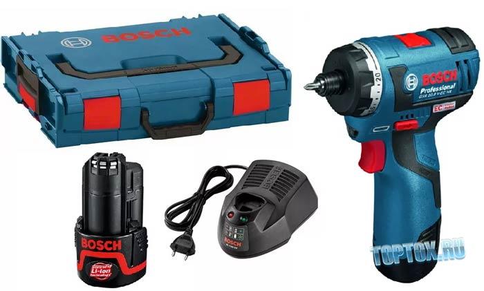Bosch GSR 10,8 V-EC 2.0Ah x2 L-BOXX