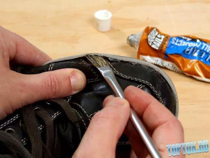 клей лучше для обуви