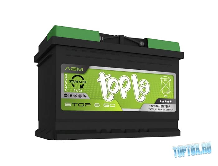 Topla Top AGM Stop&Go